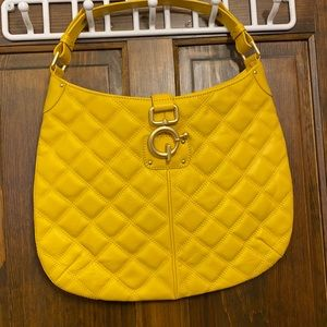 JCrew leather quilted bag